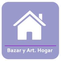 Bazar y Artículos del Hogar